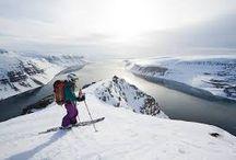 chills. / skiing