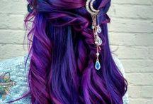 Blue-mermaid-purple hairstyles