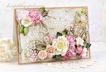 House Of Roses Inspirace / Inspirace pro tvoření s kolekcí House of Roses (Lemoncraft).  http://goo.gl/QTYfG6
