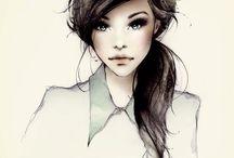 art: female