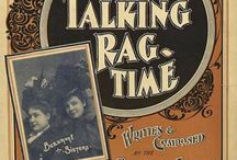 Ragtimers / Old time music Ragtime,jazz blues posters