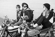 moto entre filles