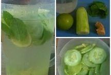 água com sabor
