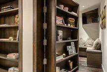 Дверца книжного шкафа