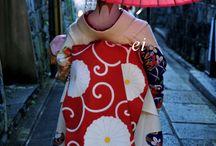 Japan / Japanese Kimono Yukata