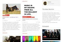 Our webzine style - The Ideas Machine