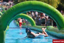 Giant Slip & Slides