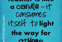 Inspiration for teachers