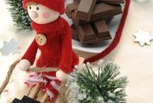 12月ボード クリスマス特集 / 12月ボードです。世界のクリスマスツリーを紹介しています。