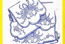 Embroidery Transfers / Welcome to 2 Many Sewing Patterns - Specializing in Sewing Patterns of All Eras and Vintage Crochet, Knitting, and Embroidery Transfers in Paper and PDF Format.