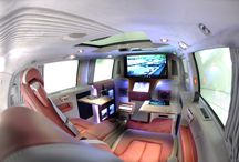 "BRABUS ""iBusiness"" Viano 3D / The exclusive office on wheels"