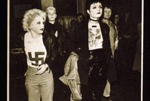 Early punk / 70's punk icons fashion subculture, before the PC virus took over the scene! Swastika's and safetypins.