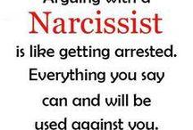 Narcisissts... Geez...