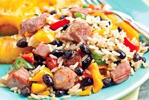 Rice & Beans / by CLAUDIA Swanson