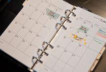 Journals, Planners, Organize