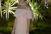 Off-The-Shoulder Dress in Wedding
