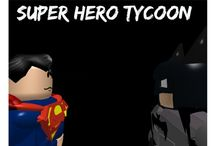 Superhero Tycoon - Roblox