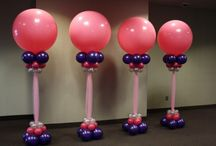 balloon art / picture making these items into different colors/ themes...think outside the box..