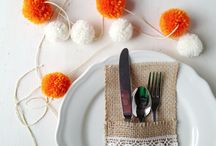 For the Table / Beautiful table setting and centerpiece ideas. / by Allison (The Golden Sycamore)