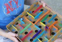 kids cardboard game