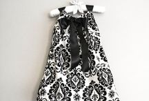 Handmade sewing / Dress, skirts, baggy - kids, women