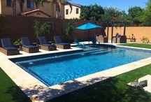 pools backyard