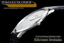 Relojes Ediciones limitadas / Ediciones limitadas de relojes fascinantes de firmas como Jaeger-LeCoultre, Omega, Zenith, Hamilton, ...