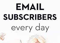 Email Marketing / Email marketing is important for any business, small business, blogger or website. Learn how to successfully build your email lists, how to write a subject line to get a better open rate and building the best newsletter. Getting the right e-mail marketing strategy is crucial