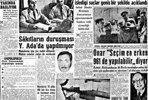1960 gazeteler