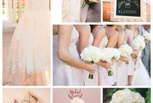 Blush and Grey Los Poblanos Wedding / Los Poblanos Historic Inn & Organic Farm in Los Ranchos de Albuquerque, New Mexico is a lovely venue for a classic and beautiful wedding. The bride chose the softest pink paired with grey - timeless, classic and beautiful! #newmexico #wedding #NewMexicoTrue #weddinginspo #customdesign #gardenwedding