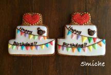 アイシングクッキー 誕生日