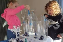 Frozen Winter / Ideas for a winter/ Frozen topic in Early Years.
