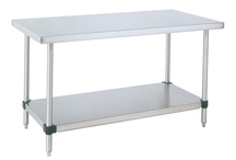 HD Super Work Tables / Stainless Steel Work Tables     Base Options     Accessories