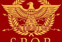 Estandartes y simbología de las legiones romanas