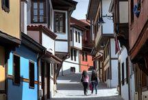 Odunpazarı evleri Eskişehir TURKEY