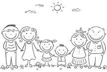 maminka a rodina