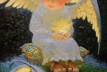 Живопись ангелы
