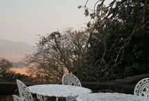 Reilly's Rock, Mlilwane, The Kingdom of Swaziland / Reilly's Rock is an exclusive Lodge on a rocky outcrop with stunning views over Mlilwane Wildlife Sanctuary. Breakfast on the veranda is delightful with the numerous birds feeding nearby.