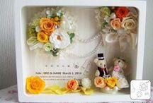 Идея для свадебных фигурок