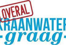 Overal kraanwater graag