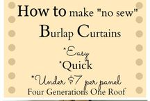 Curtain ideas / by Laura McManus