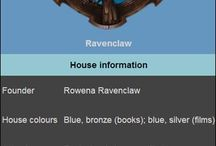 Harry Potter - Ravenclaw house