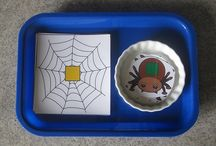 Insects, spiders, snails and more bugs crafts, games, activities for preschool and kindergarten