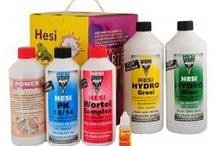 Hesi Nutrients / Hesi nutrients for plant growth in soil, hydro and coco.