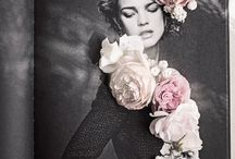 Collage with flowers / Photo + flowers = magic