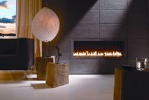 Open Gas Fires / A variety of designs and configurations for our bespoke range of open gas fires.