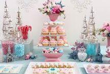 Inšpirácie - Zasnežené svadobné cukrovinky / Inspirations - Winter wedding sweets