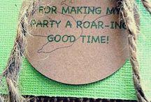 Dino 3 Party Ideas