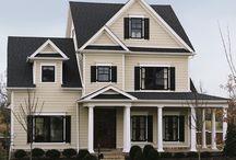 Siding/front porch