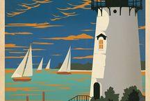 Lighthouses, Martha's Vineyard / by Jen Waltrip